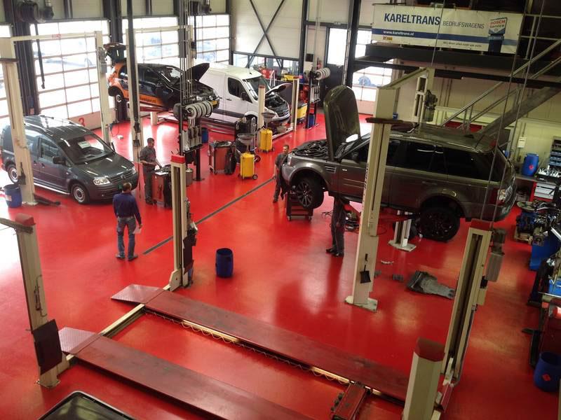 antislip vloer garage