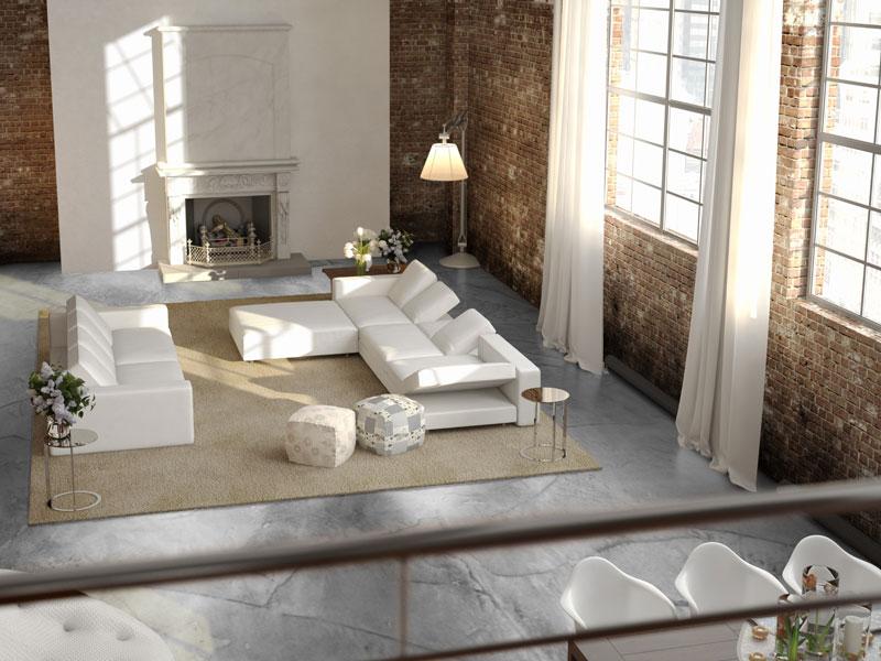 beton gietvloer in woning