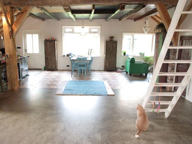 Speciale afwerking en betonlook vloer prijs