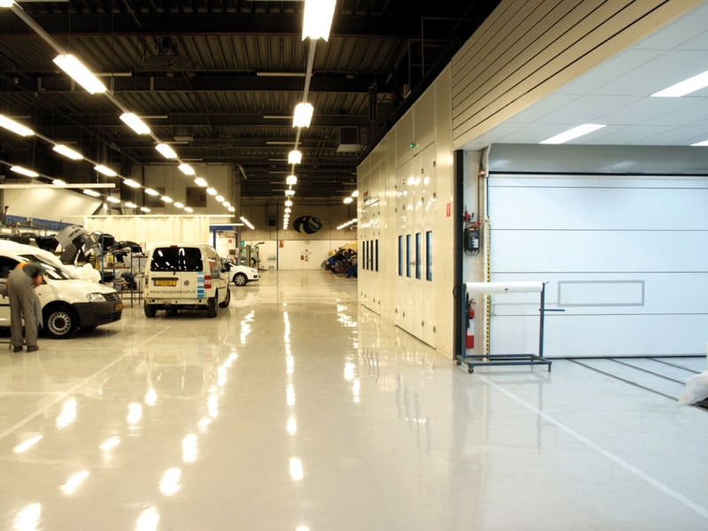 epoxy coating garagevloer